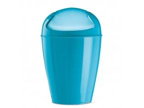Odpadkový koš DEL M, 12 l- barva tyrkysová, KOZIOL