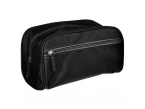 VANITY pánská kosmetická taška, classic, cestovní, barva černá