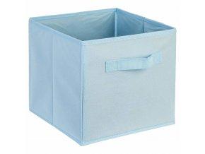 Krabice na textil, krabička na oblečení, 24 x 34 cm, modrá