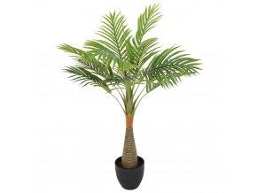 Dekorativní palma v hrnci, 80 cm Atmosphera créateur d'intérieur