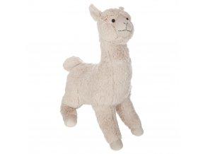 Baby Plyšový, Lama maskot, dětská hračka, béžová barva