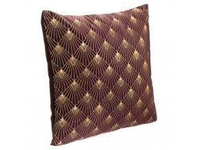 Dekorační polštář ArtDeco s geometrickým potiskem 40 cm