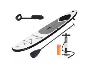 Nafukovací SUP deska s paddleboardem, barva černá