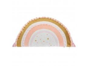 Dětský pokoj Dekorativní polštář RAINBOW Dětský pokoj Dekorativní polštář 50 x 28 cm