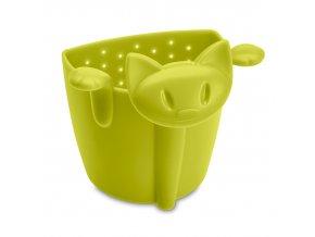 Sítko na čaj MIMMI, barva zelená, KOZIOL