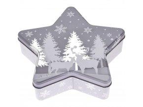 Kanystr STAR cookie box, vánoční téma
