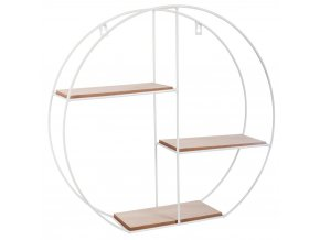 ETAGERE MUR RONDE BLANC BREAK