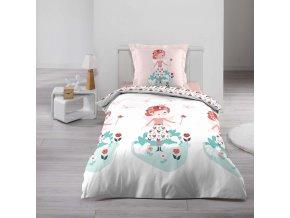 Ložní prádlo pro děti GIRL, 140 x 200 cm
