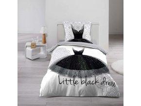 Černé šaty, 140 x 200 cm