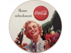 Kruhová nádoba Coca-Cola