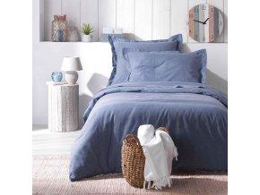 Ložní prádlo 140 x 200 cm REVATE, modrá barva