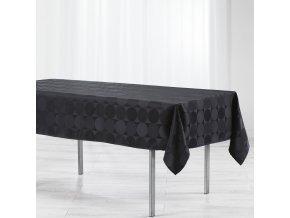 Černý ubrus 140 x 300 cm, COMETE