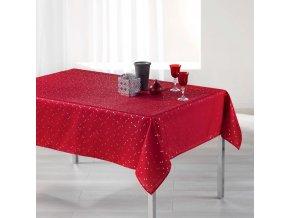 Červený ubrus SAFINA 150 x 300 cm