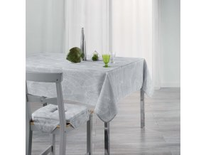 Ubrus 150 x 240 cm GATSBY, šedá barva