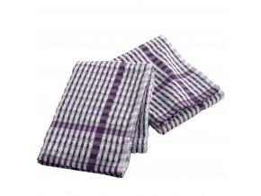 Kuchyňské ručníky MINEO, 50 x 70 cm, purpurová barva, 2 ks