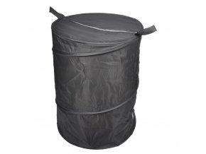 Koš na prádlo v tmavě šedé barvě VITAMINE POP, 50x38cm