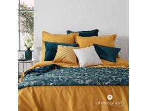 Dekorativní polštář pro obývací pokoj Ložnice Velurové žlutá 40 x 40 cm