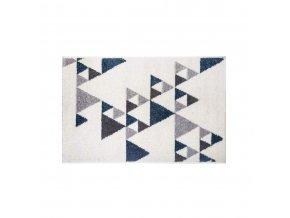 Dekorativní rohože ILAN, 60 x 90 cm, modrý vzor