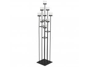 Svícen, stojan pro 9 svíček 116 cm