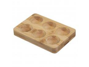Bambusové vejce box, 6 míst, 15x20 cm