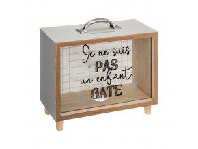 PENY BOX prasátko, zásuvkový motiv, 18x18x7 cm