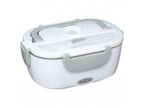 Lunchbox, elektrický vyhřívaný oběd box, bílá
