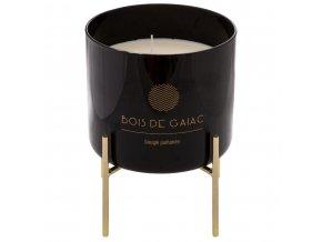 Velká aromatická svíčka ve skleněné nádobě BOUGIE, 1 kg