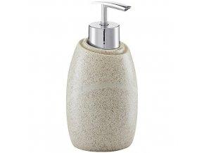 Dávkovač na mýdlo STONE BEIGE, barva béžová, ZELLER