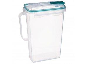 Vzduchotěsná plastická nádoba na potraviny, 2 L