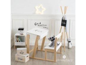 Dekorativní dřevěné organizátory, 3 velikosti v ceně