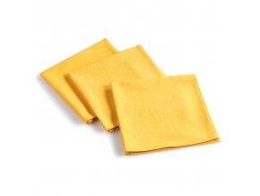 Žluté ubrousky AUBELINE, 3 ks, 40 x 40 cm
