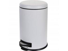 Odpadkový koš SOFT CLO, 20 l, bílá barva