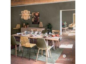 Jídelní židle KUBU, ratan, 88 cm