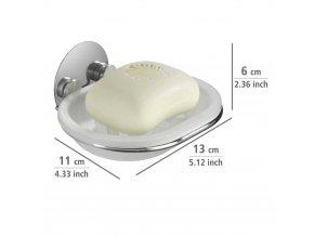 Mýdelník Turbo-Loc – držák na mýdlo, WENKO