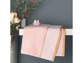 GOLDY ručník, 50 x 90 cm, růžová