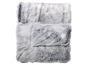 ANTARTIC přehoz přes postel 125 x 150 cm šedá