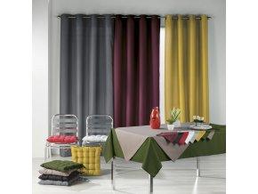 Stolní šedé ubrousky Essentiel, 40x40 cm