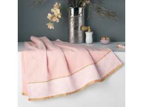 GOLDY ručník, 70 x 130 cm, růžová