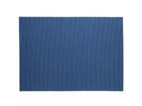 Pěnová koupelnová rohož 65x90 cm, modrá barva