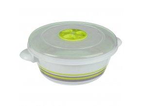 Kontejner na potraviny 1 L Kolo, Zelená
