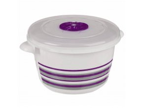 Kontejner na potraviny 1.5 L Kolo, Purpurová