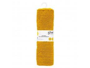Podložka na koupelnu TAPIS MINI CHENILLE, 50x80 cm, žlutá