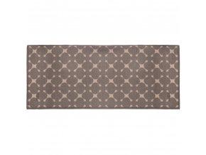 GEO chodba dekorativní koberec, 50 x 120 cm, hnědá