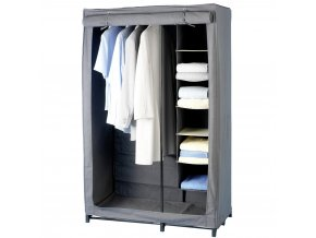 Šatník textilní LIBERTÁ, skříň na oblečenía, 163x102x51cm, WENKO