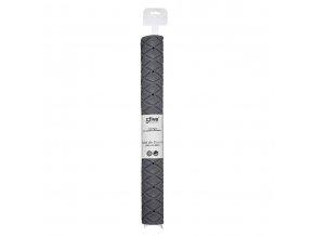 Protiskluzová podložka do koupele, 69x39 cm, šedá