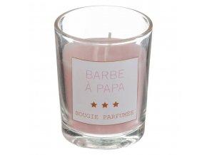 Aromatická sada s tyčinkami a svíčkou, barva růžová