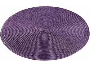 Stolní podložka kulatá, Ø 35 cm, barva fialová