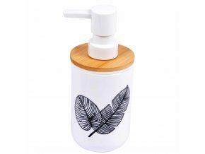 Dávkovač na tekuté mýdlo AMAZONIA, barva bílá