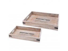 Dřevěný podnos SERVINGTRAY - 2 ks