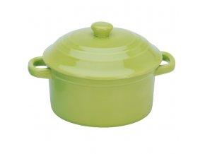 Keramický hrnec s poklicí, ohnivzdorné nádobí, 280 ml EH Excellent Houseware